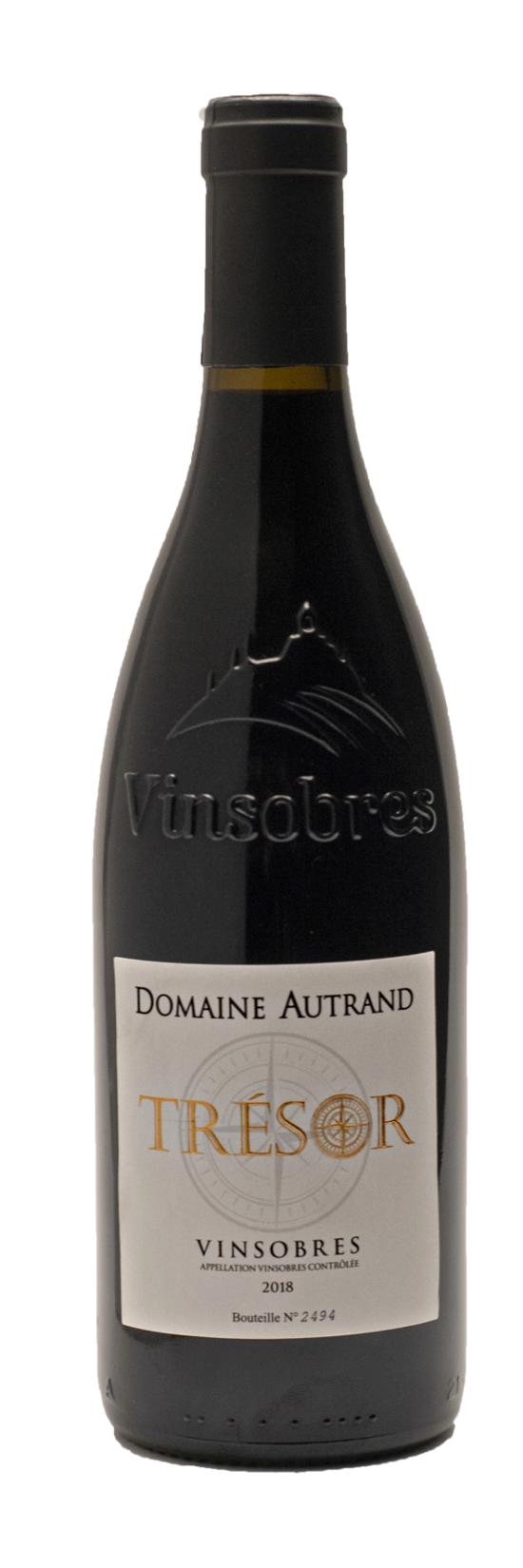 "AOC Vinsobres cuvée ""Trésor"""