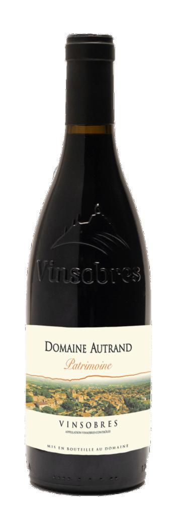 AOC VINSOBRES Cru des Côtes du Rhône
